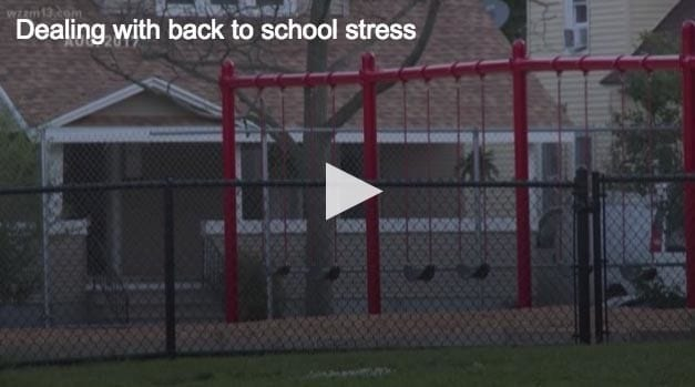 How to handle back-to-school stress